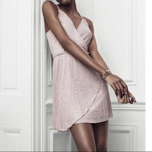 Dresses & Skirts - Express metallic dress